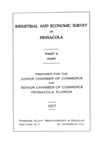 Industrial and economic survey of Pensacola: Part 2 - Port