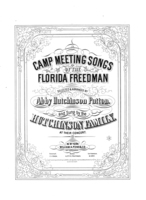 Camp meeting songs of the Florida freedman