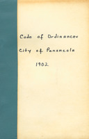Code of ordinances of the city of Pensacola, 1902