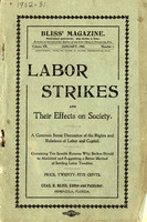Labor strikes and their effects on society: a common sense discussion of the rights and relations of labor and capital
