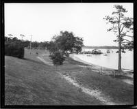 BAYVIEW PARK ON BAYOU TEXAR, PENSACOLA, FLA.