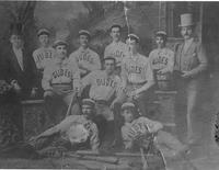 """DUDES"" BASEBALL TEAM, PENSACOLA, FLORIDA"