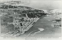 AERIAL VIEW OF THE PENSACOLA SHIPBUILDING COMPANY PLANT, FRONT