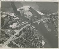 AERIAL VIEW OF THE GULF INTRACOASTAL WATERWAY, 1953, FRONT