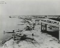 AERIAL VIEW OF THE NAVAL AIR STATION, NOVEMBER 18, 1918, FRONT