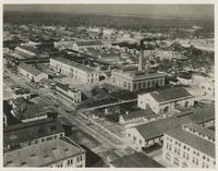AERIAL VIEW OF THE NAVAL AIR STATION, OCTOBER 8, 1918, FRONT