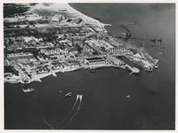 AERIAL VIEW OF THE NAVAL AIR STATION, JANUARY 18, 1919, FRONT