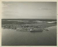AERIAL VIEW OF THE NAVAL AIR STATION, CA. 1969, FRONT