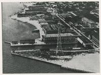 AERIAL VIEW OF THE NAVAL AIR STATION