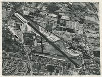 AERIAL VIEW OF THE GRUMMAN MAIN PLANT