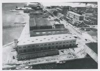 AERIAL VIEW OF THE NAVAL AIR STATION, 1933, FRONT