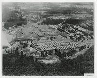 AERIAL VIEW OF THE ALGER-SULLIVAN LUMBER COMPANY IN CENTURY, FL