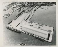 AERIAL VIEW OF THE PORT OF PENSACOLA